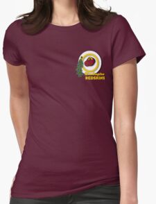 Pocket Version Tee Potato Redskins Womens Fitted T-Shirt