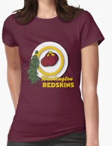 Potato Redskins Womens Fitted T-Shirt