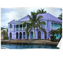 Colorful Shopping Experience on Tortola, British Virgin Islands, BVI  Poster