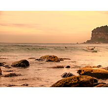 Afternoon Delight  Sydney Beaches - Avalon Beach - The HDR Series - Sydney Australia Photographic Print