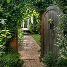 Spindletree Walled Garden by Marilyn Cornwell