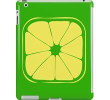 Green lemon iPad Case/Skin
