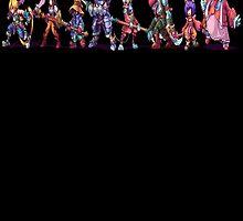 Final Fantasy 9 Characters by Tangleyz