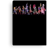 Final Fantasy 9 Characters Canvas Print