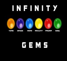 The Infinity Gems by djhudson
