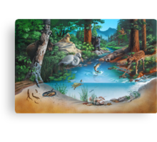 Forest Community Canvas Print