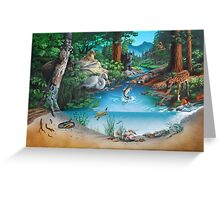 Forest Community Greeting Card