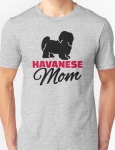 Havanese Mom Unisex T-Shirt