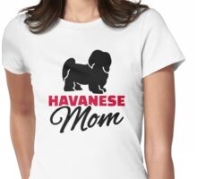 Havanese Mom Womens Fitted T-Shirt