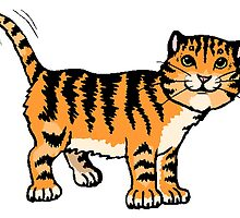 Tiger Cat by kwg2200