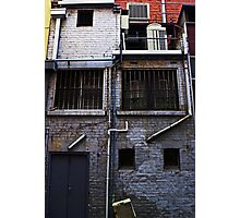 Behind the Facade Photographic Print