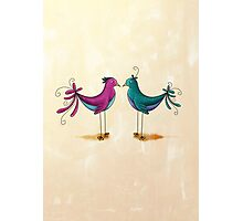 Birds in love Photographic Print