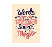 Source of Magic Art Print