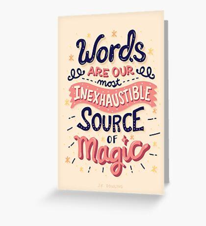 Source of Magic Greeting Card