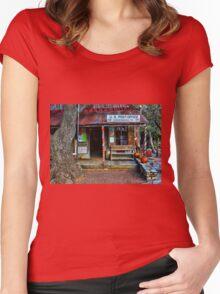 Luckenbach TX Women's Fitted Scoop T-Shirt