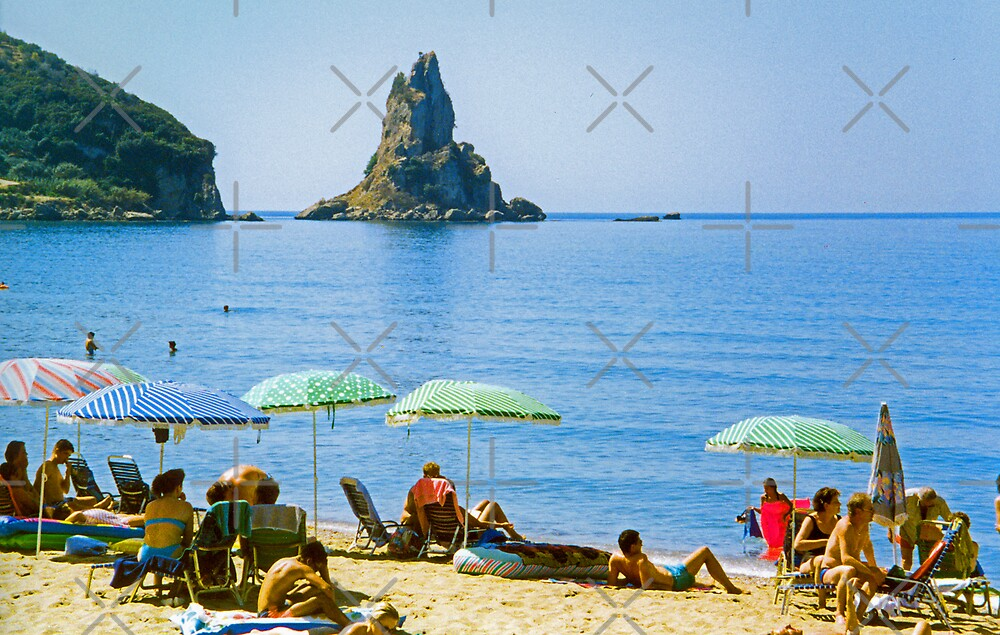 Agios Gordios Beach by Tom Gomez