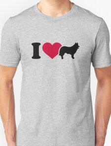 I love herding dog shepherd T-Shirt