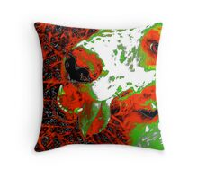 Warholesque Mikey Throw Pillow