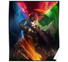 Udyr Spirit Guard 4 in 1 - League of Legends Poster
