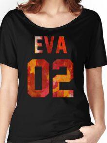 EVA-02 (Neon Genesis Evangelion) Women's Relaxed Fit T-Shirt