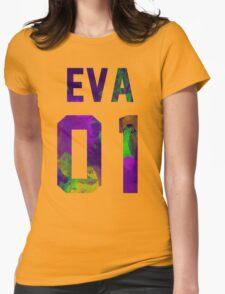 EVA-01 (Neon Genesis Evangelion) Womens Fitted T-Shirt