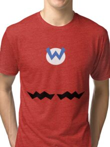 Wario  Tri-blend T-Shirt