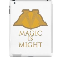Magic Is Might iPad Case/Skin