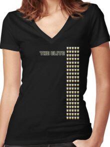 The Elite Women's Fitted V-Neck T-Shirt
