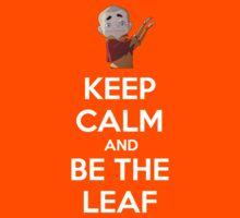 BE THE LEAF by Alexandru Hul