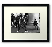 Something to shout about Framed Print