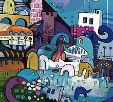 My Elephant Has A Room by Jonathan Grauel
