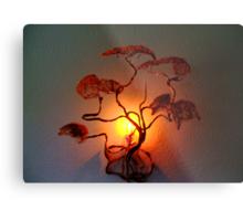 Wall Mount Bonsai Tree Metal Print