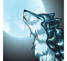 Howling Wolf Photographic Print
