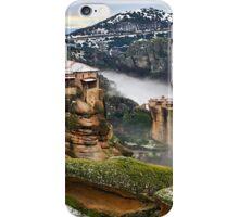 Varlaam & Roussanou monasteries - Meteora iPhone Case/Skin