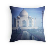 Plastic Taj Throw Pillow