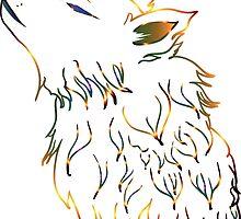 Howling Wolf 3 by AnnArtshock