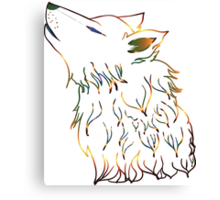Howling Wolf 3 Canvas Print