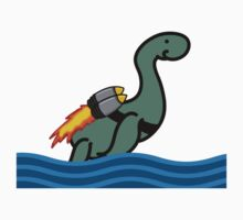 Rocket Nessie by Michowl