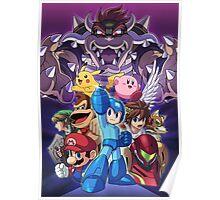 Super Smash Bros Brawl Design  Poster