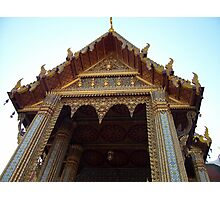 Golden Temple Photographic Print