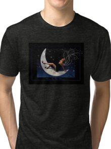 Meg in the Moon Tri-blend T-Shirt