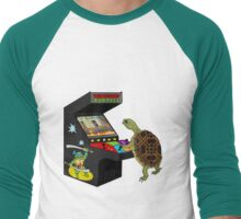 Arcade Ninja Turtle Men's Baseball ¾ T-Shirt