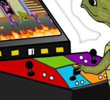 Arcade Ninja Turtle Sticker