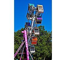 Zip Ride Photographic Print