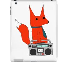 music fox iPad Case/Skin