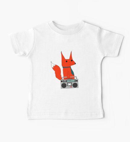music fox Baby Tee