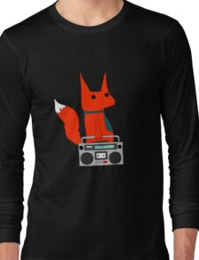 music fox Long Sleeve T-Shirt