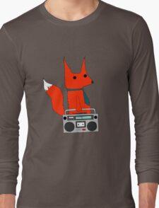music fox Long Sleeve T-Shirt
