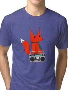 music fox Tri-blend T-Shirt