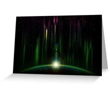 Abstract eclipse Greeting Card
